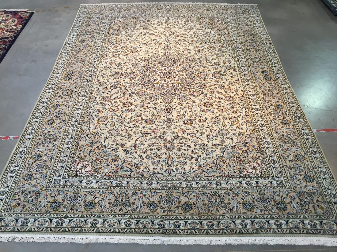 "MAGNIFICENT AUTHENTIC PERSIAN KASHAN RUG  9'.9""X13'.0"""