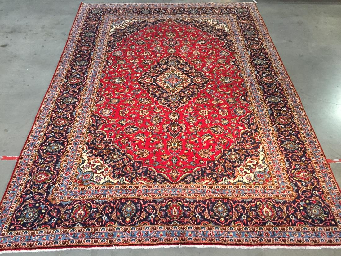 """TIMELESS AUTHENTIC PERSIAN KASHAN RUG  9'.9""""X13'.3"""""""