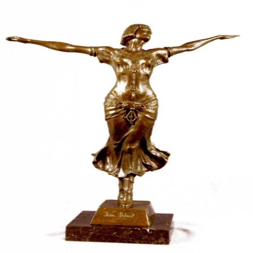 Free Air Dancer Bronze Sculpture