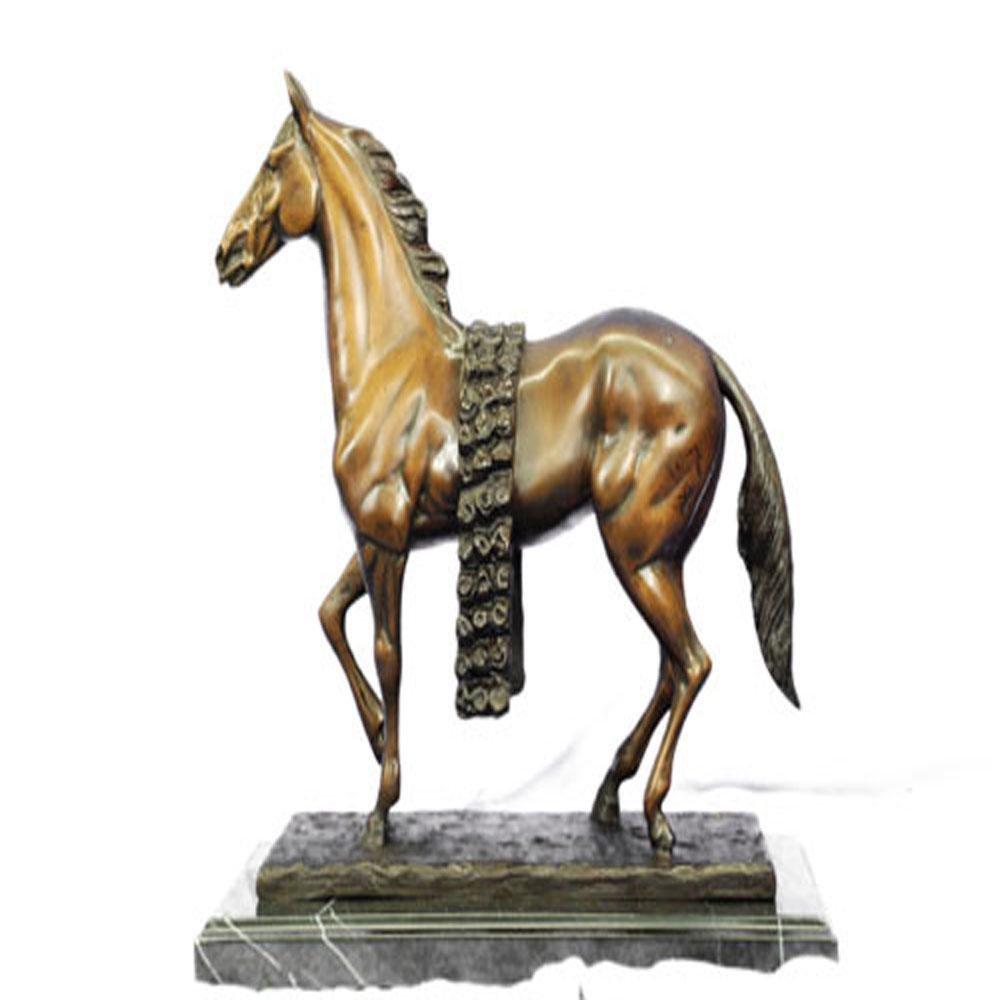 Race Horse Racing Genuine Bronze Sculpture