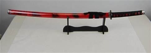 Red Samurai sword