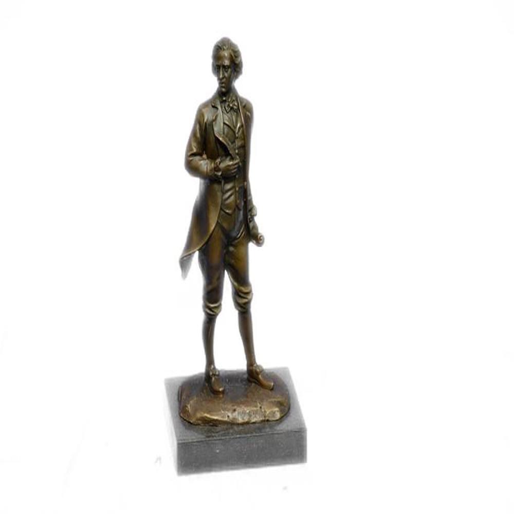 Thomas Jefferson Declaration of Independence Bronze