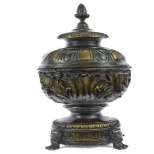 Urn Bronze Statue
