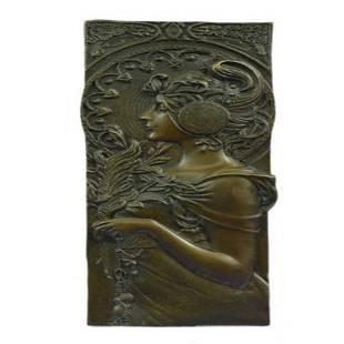 Bas Relief Bronze Sculpture