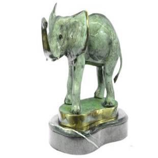 Animal Edition Elephant Bronze Sculpture