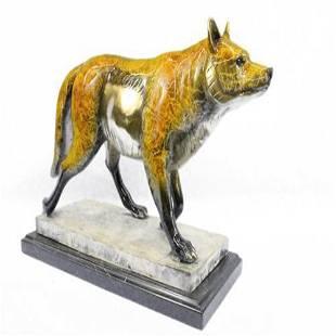 Sly Fox Animal Edition Bronze Sculpture
