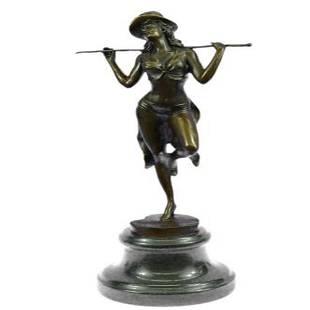 Chorus Line Dancer Bronze Sculpture