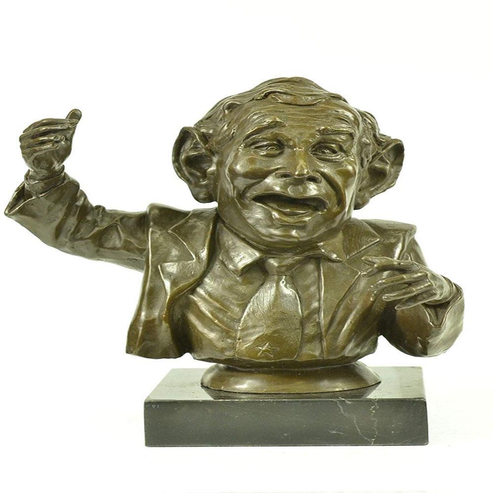 George Bush Bronze Sculpture
