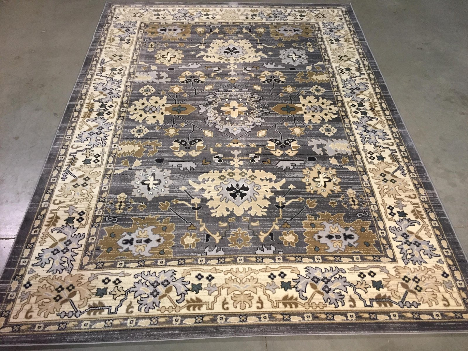 CLASSIC TURKISH GEOMETRIC DESIGN AREA RUG 8x11