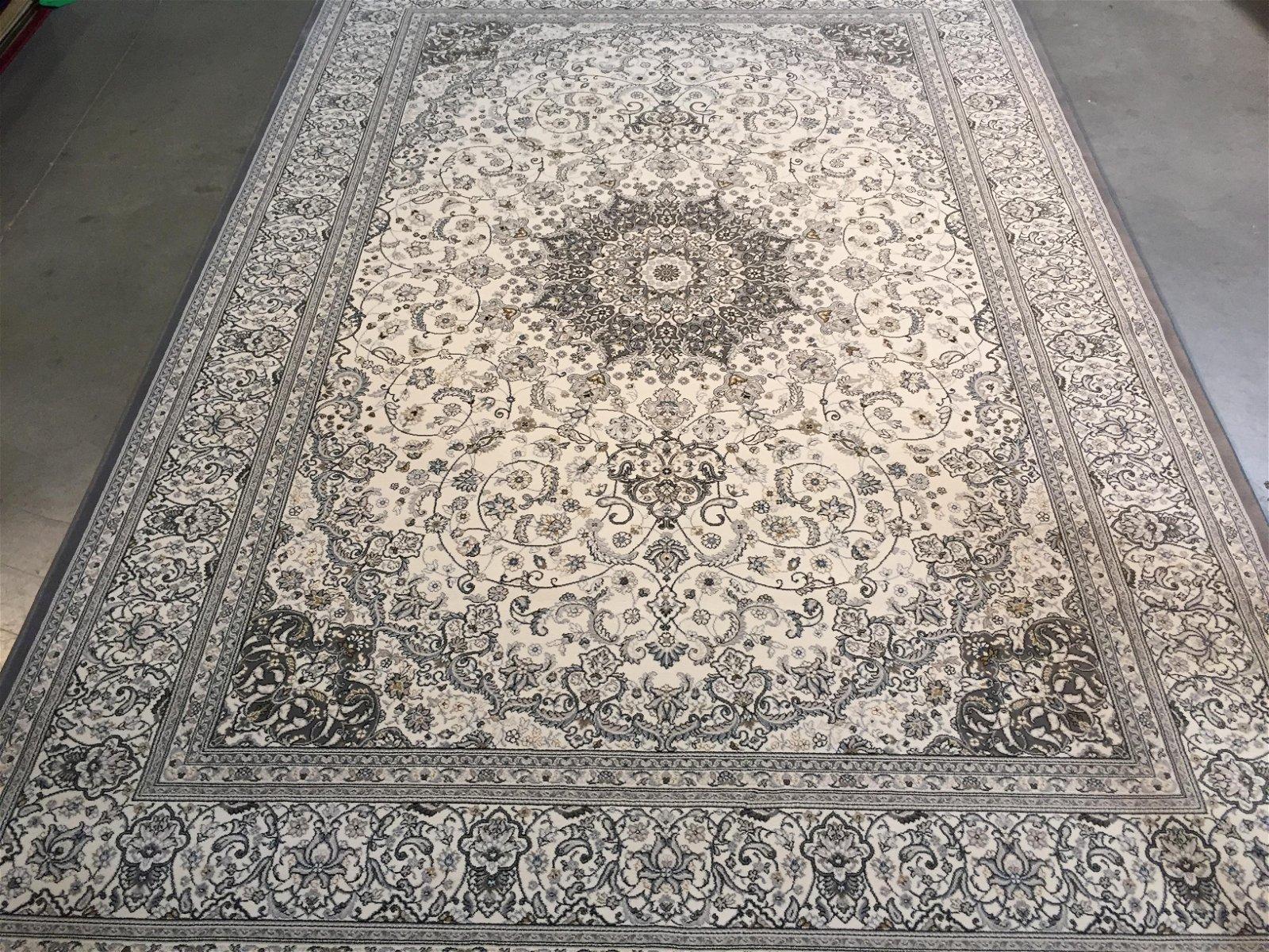 STUNNING PREMIUM PERSIAN ISFAHAN DESIGN AREA RUG 9x13