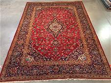 AUTHENTIC PERSIAN KASHAN RUG  10x13