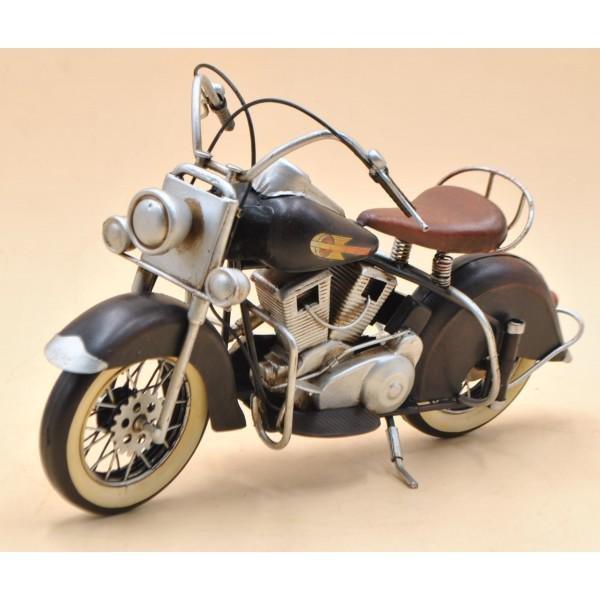 1947 Black Indian Chief Harley Davidson Motorcycle