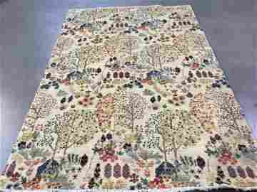 4.7X6.9 UNIQUE & COLORFUL HAND KNOTTED RUG