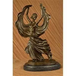 Flamenco Dancer Bronze Sculpture