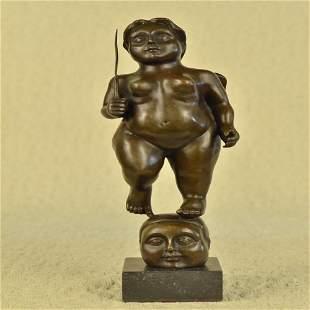 Standing Angel Bronze Sculpture