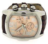 Invicta Lupah Chrono Rose Tone Dial Watch