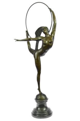 Morante Hoop Dancer Bronze Sculpture
