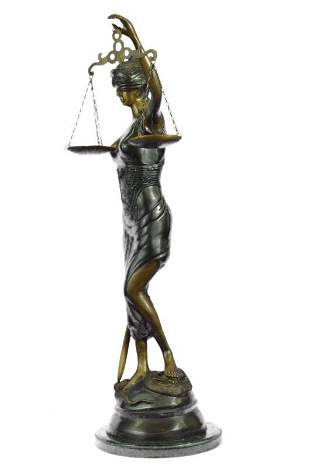Lady Justice Bronze Sculpture