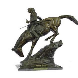 Mountain Man Bronze Sculpture