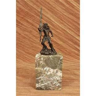 Poseidon God of Sea Bronze Sculpture