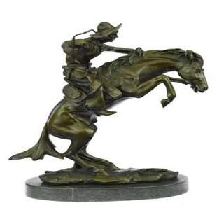 West Cowboy Bronze Sculpture
