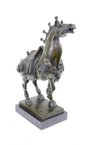 Famous Chinese Tang Horse Bronze Sculpture