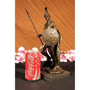Roman Warrior Bronze Sculpture