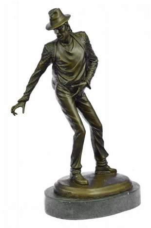 Michael Jackson King of Pop Bronze Sculpture