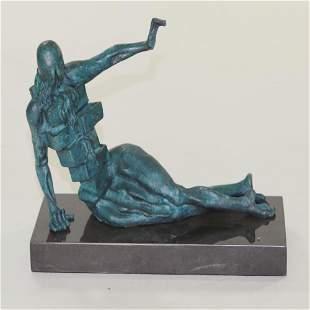 Modern Female Bronze Sculpture
