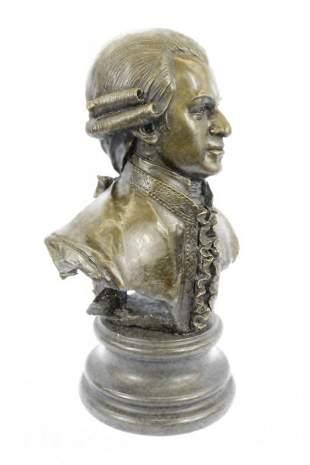 Wolfgang Amadeus Mozart Bronze Statue