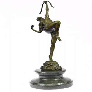 Diana the Huntres Bronze Sculpture