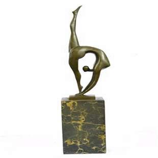 Ballerina Bronze Figure
