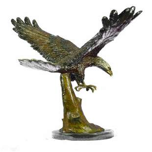 American Eagle Bronze Sculpture