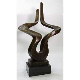 Abstract Modern Art Bronze Figurine