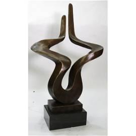 Abstract Modern Art Bronze Figurine