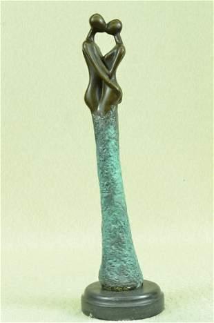 First Kiss Bronze Statue