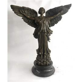 Angel Goddess of Victory Bronze Sculpture