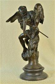 Greek Mythology Grim Reaper Death God Bronze Sculpture