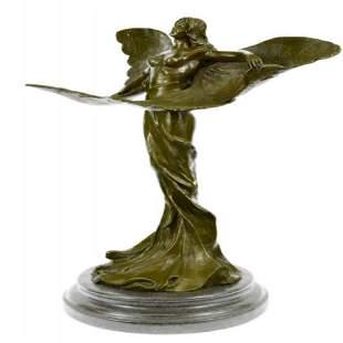 Butterfly Angel Bronze Sculpture