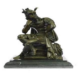 Roman Gods Mars Bronze Sculpture