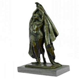 Egyptian Dancer Art Deco Bronze Figurine