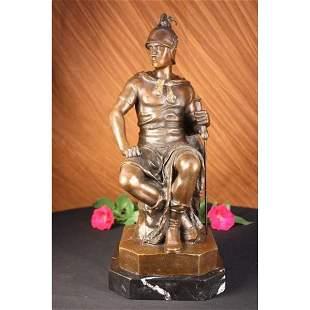Roman Legion Bronze Sculpture