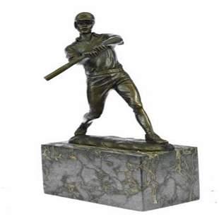Baseball Player Bronze Sculpture