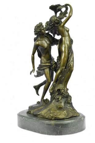 Apollo and Daphne Bronze Sculpture
