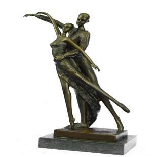 Ballerina Dancers Bronze Sculpture