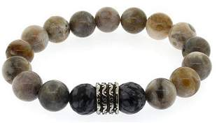 Natural Marble Agate Bracelet