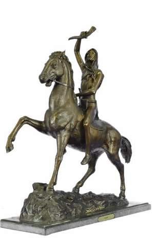 Scalp Bronze Sculpture