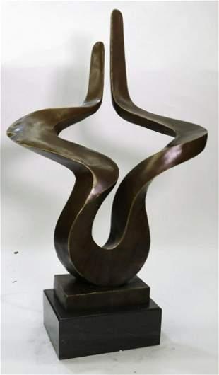 Modern Art Bronze Figurine