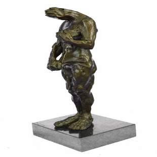 Female Creature Bronze Sculpture