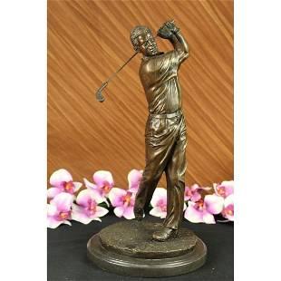 Golfer Trophy Bronze Statue